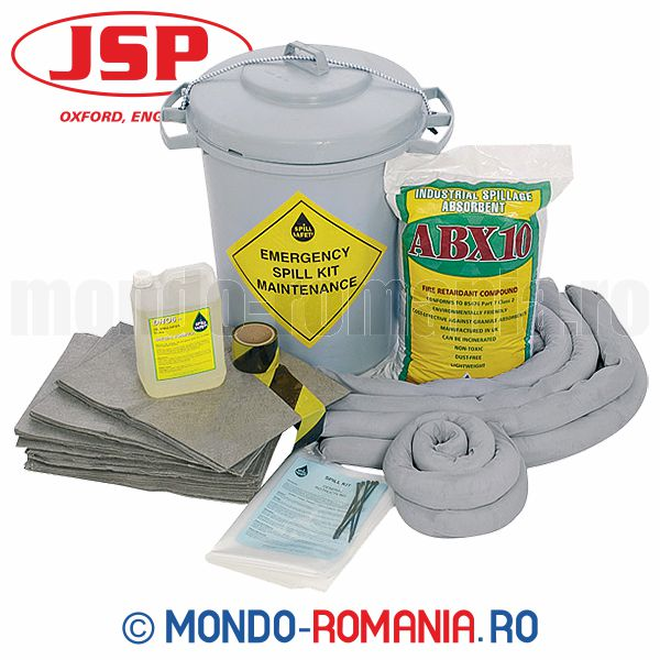 Kit de interventie, de uz general, pentru scurgeri JSP MAINTENANCE KIT 90L