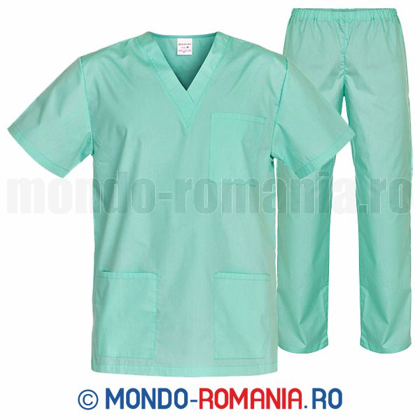 Costum medical - bluza, pantaloni - uniforme medicale