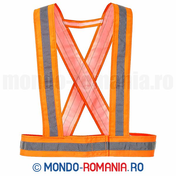 Ham reflectorizant orange- veste reflectorizante HV55