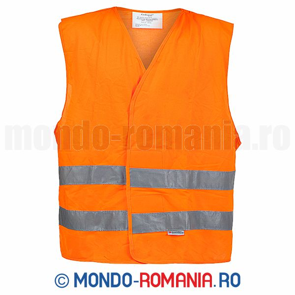 Veste reflectorizante - Vesta semnalizare BOLT Eco orange